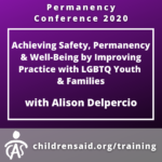 Achieving Safety, Permanency & Well-Being by Improving Practice with LGBTQ Youth & Families