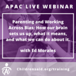 Parenting and Working Across Bias: How our brain sets us up, what it means, and what we can do about it.