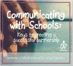 Communicating with Schools