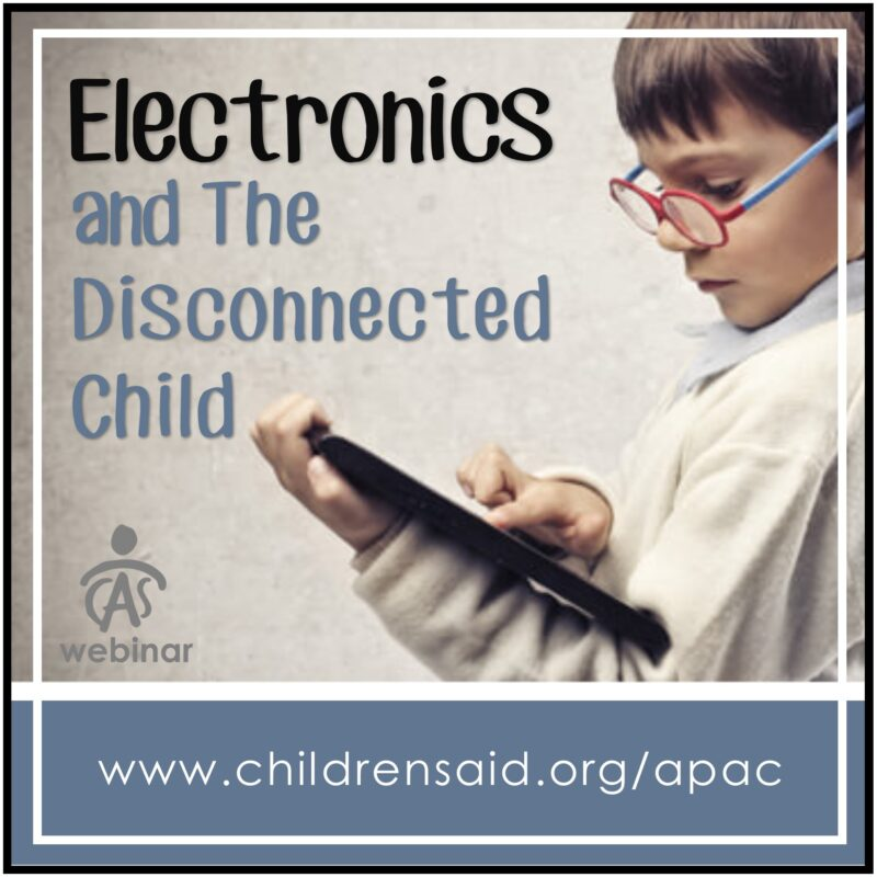 Electronics And The Disconnected Child
