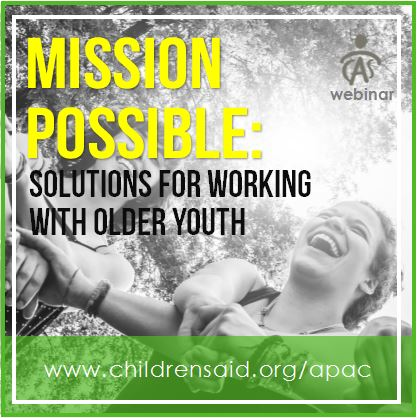 Mission Possible Solutions For Working With Older Youth