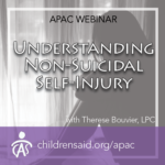 Non-Suicidal Self-Injury in Children and Youth