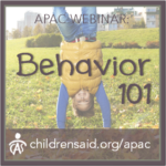Behavior 101: Understanding Applied Behavior Analysis and Strategy