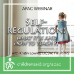 Self-Regulation: What It Is and How to Teach It