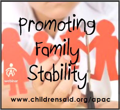 Promoting Family Stablity