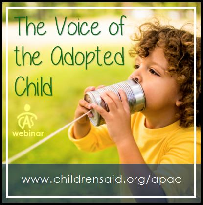 The Voice Of The Adopted Child